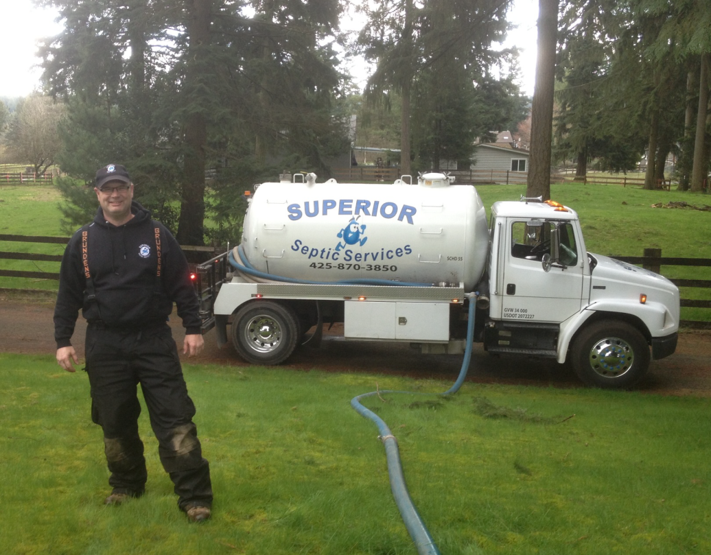 septic inspection in Arlington