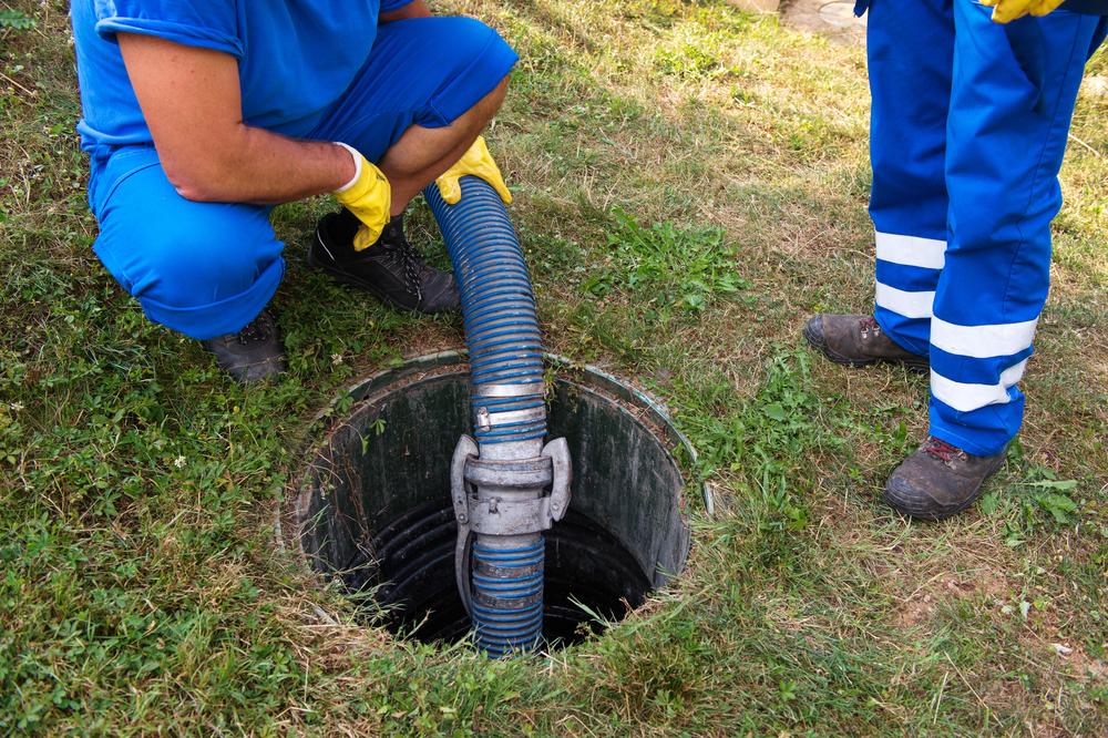 septic tank near Arlington