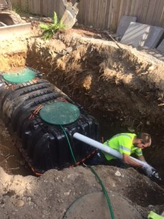 Septic Tank Inspection in Marysville